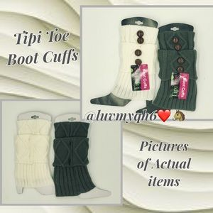 TipiToes Accessories - Tipi Toe Boot Cuffs/Toppers (2pack)